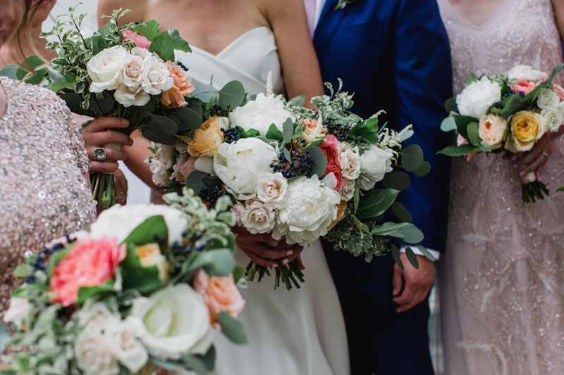 ann arbor wedding flowers by red poppy floral design at cornman farms wedding