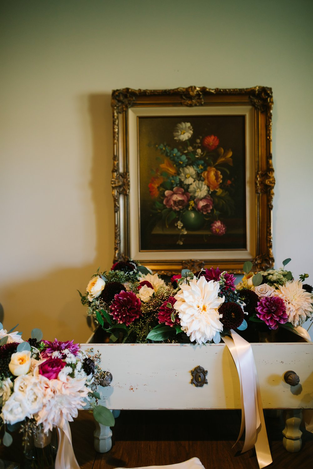 misty farm wedding bouquets