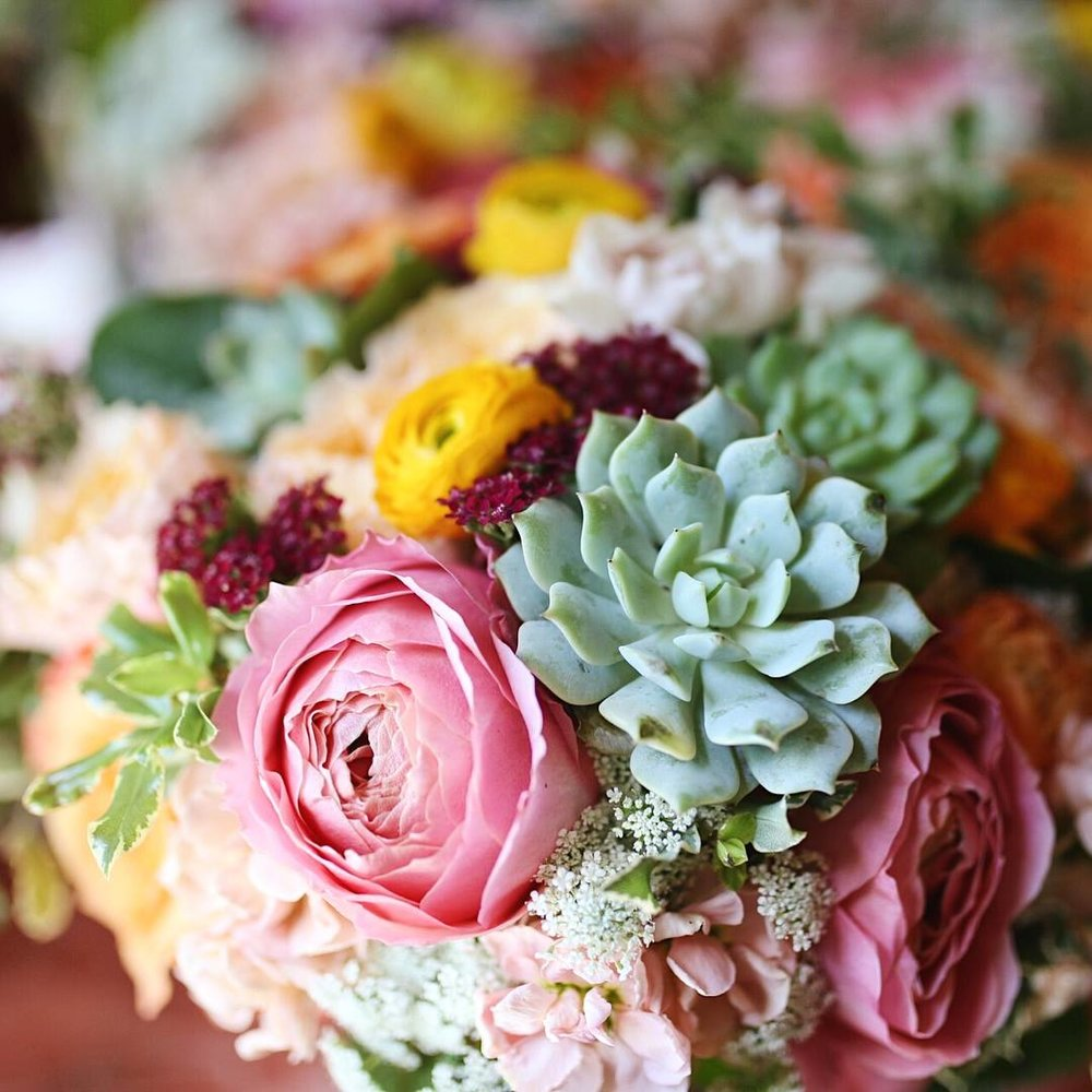 sunset cove wedding flowers