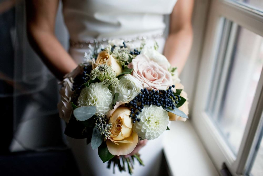 michigan league wedding flowers