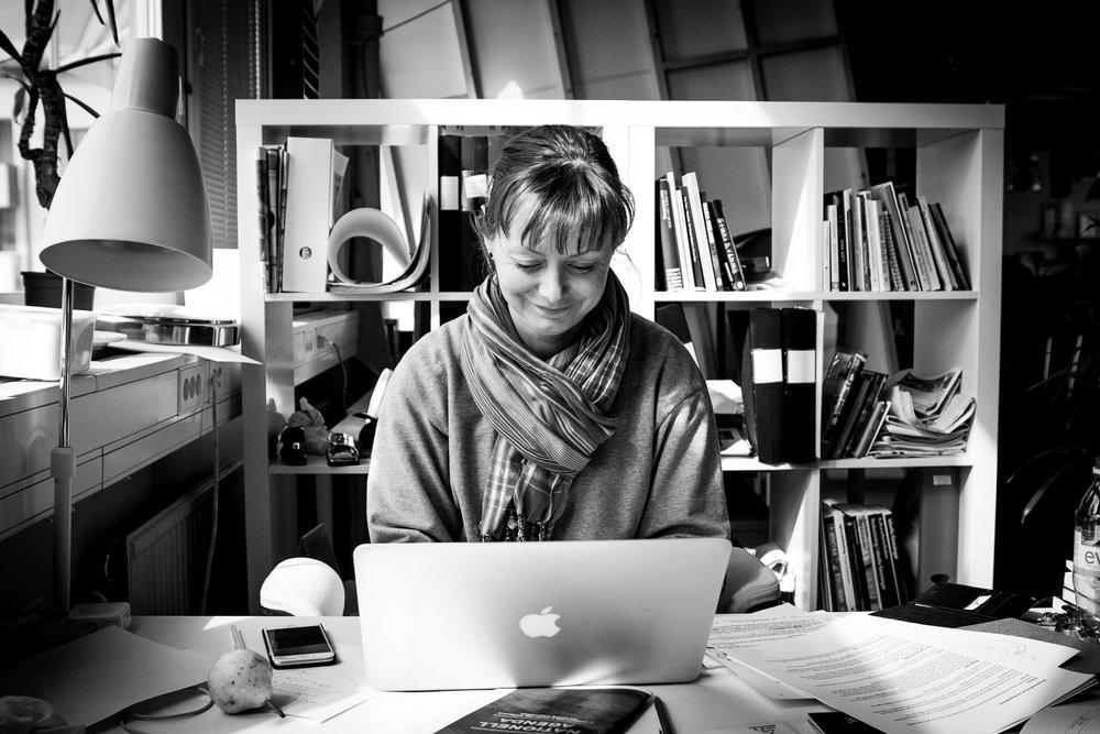 Sara Lönnroth, foto av Binyam Berhane