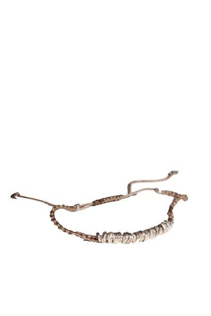 Copy of Copy of Copy of Crochet Bracelet with Gold filled Beads