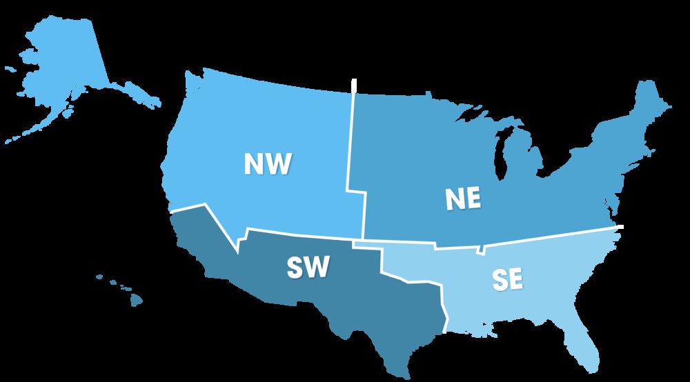 US Quadrants