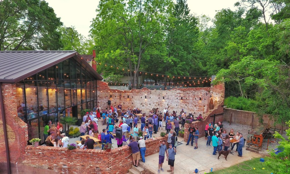 About OBC - How did OBC come to be?The genesis of Oconee Brewing Company was a casually spoken idea: The City of Greensboro, Georgia, would be a prime location for a craft brewery.  That comment ignited a spark in John and Nathan McGarity of McGarity Realty in McDonough, Georgia.  The father and son project development team own the 6,000 square foot former mill warehouse that is the home of Oconee Brewing Company. They partnered with Taylor Lamm and broke ground in June 2016.  Oconee Brewing Company opened on May 6, 2017.
