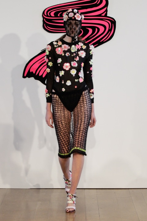 The workmanship shows through: bodysuit at Sister by SIBLING (SS13)