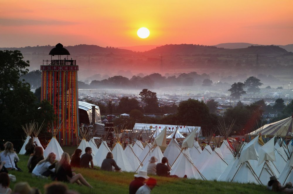 As we know it now. View over site © Glastonbury Festival. Photography Matt Cardy.