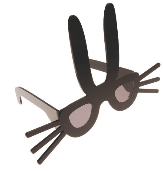 Rabbit sunglasses (2009) by Tatty Devine for Peter Jensen