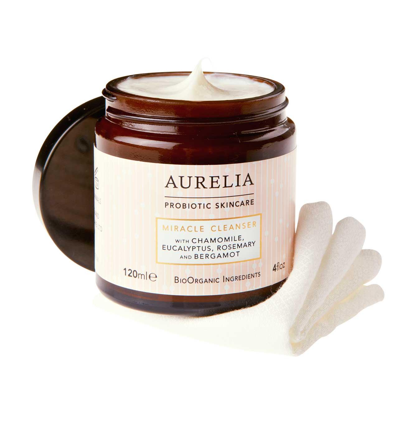 Miracle Cleanser, £34, Aurelia Skincare. www.aureliaskincare.com