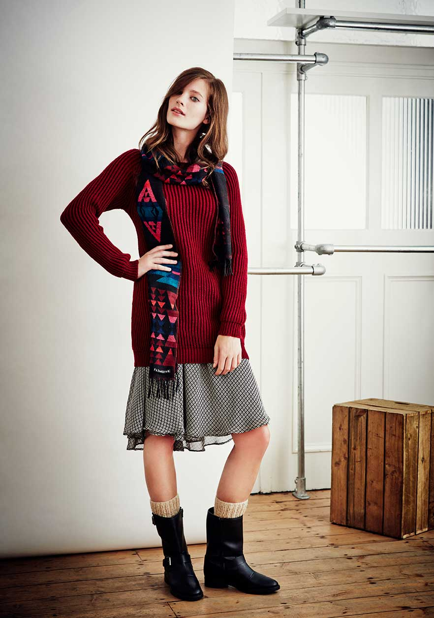 Fairtrade Fishermans Knit Sweater, £60, FAIR + TRUE. www.fashion-conscience.com