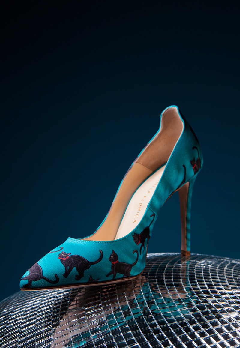 Shoes by Camilla Elphick.