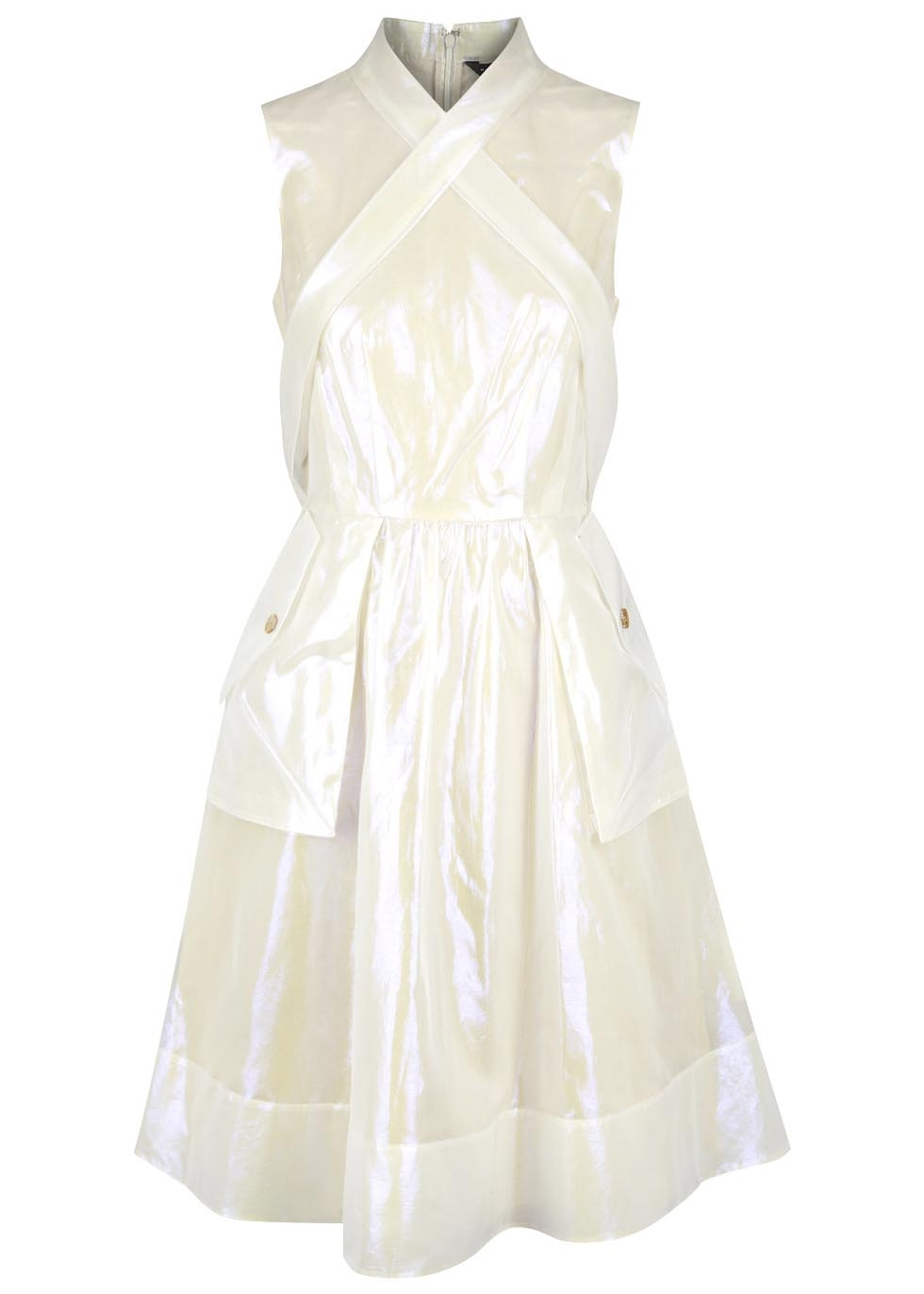 Pearlescent organza dress, £610, Marc by Marc Jacobs. www.harveynichols.com