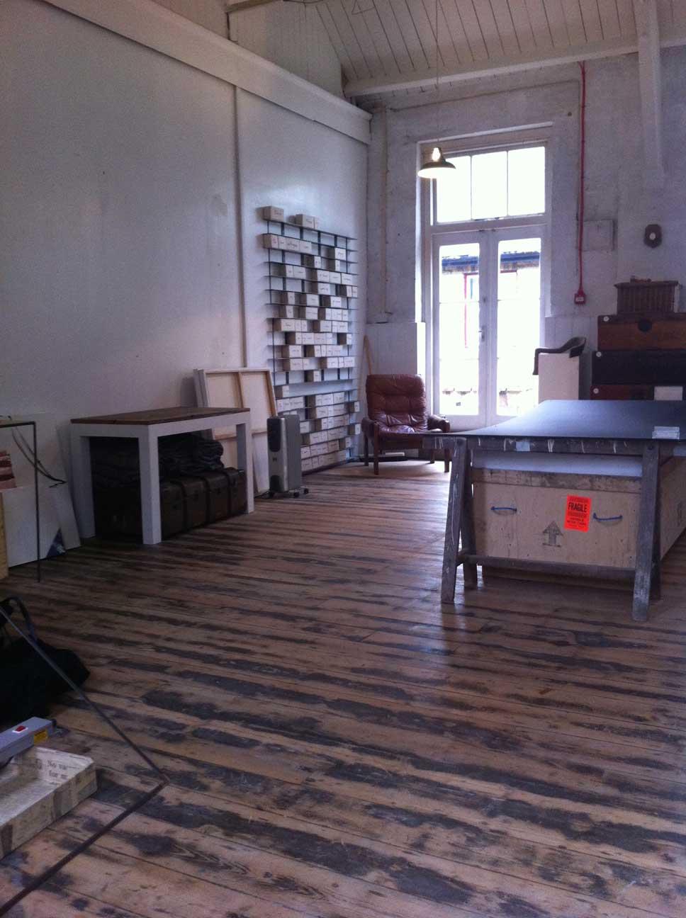 Interior of Adeline de Monseignat's studio. Picture: Bel Jacobs.