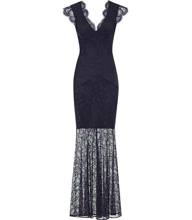 Ambrosia floral lace maxi dress, £420, Reiss. www.reiss.com