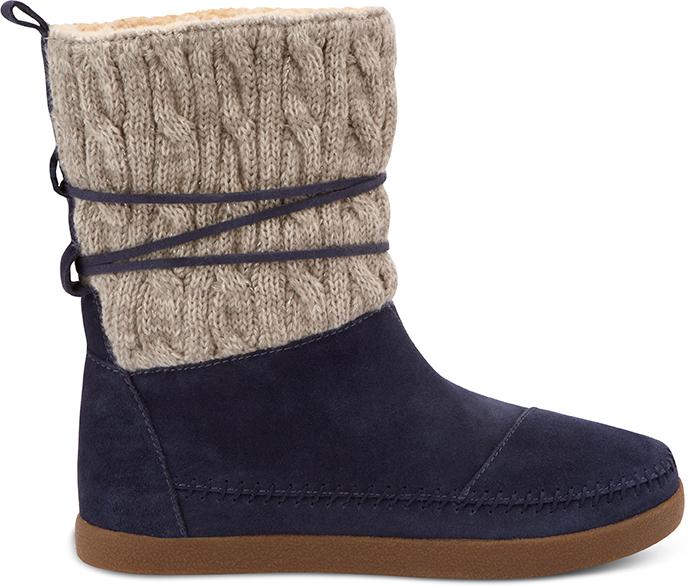 Navy boots, £XX, Toms.
