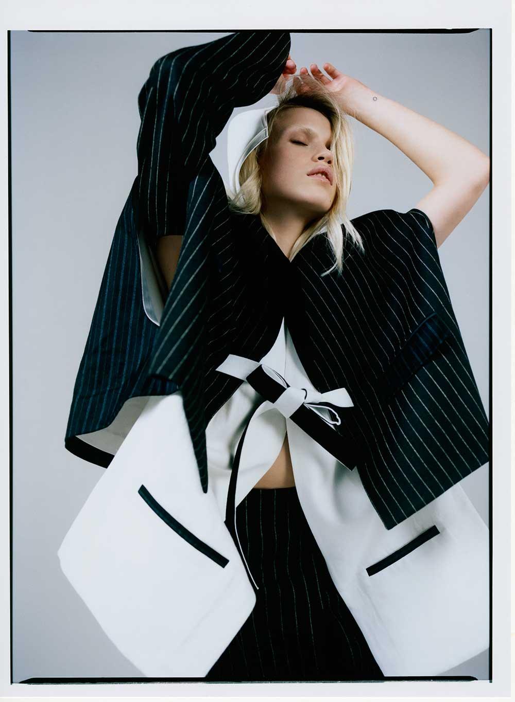 Qiwen Wu, LCF Womenswear MA 2015