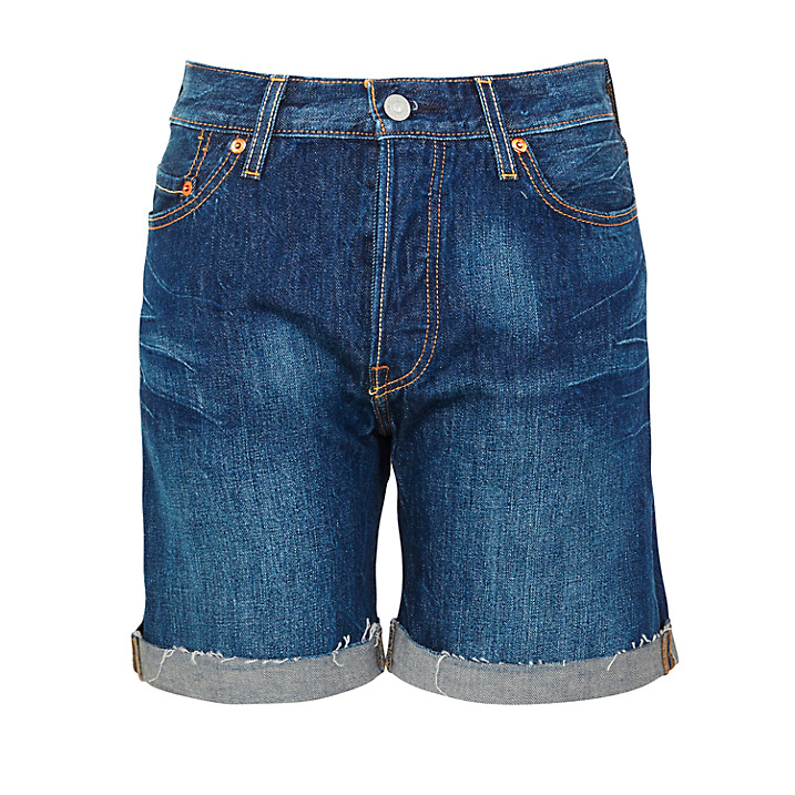 River Bed Denim Shorts, £51, Levi's 501. www.johnlewis.com