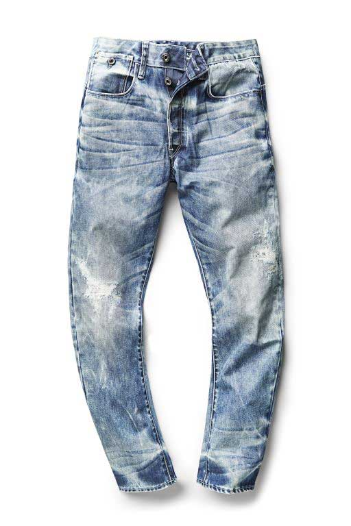 Tapered jeans by RAW for the Oceans