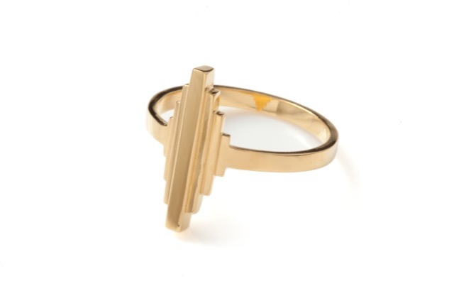 Antumbra Ring in Gold, £160.