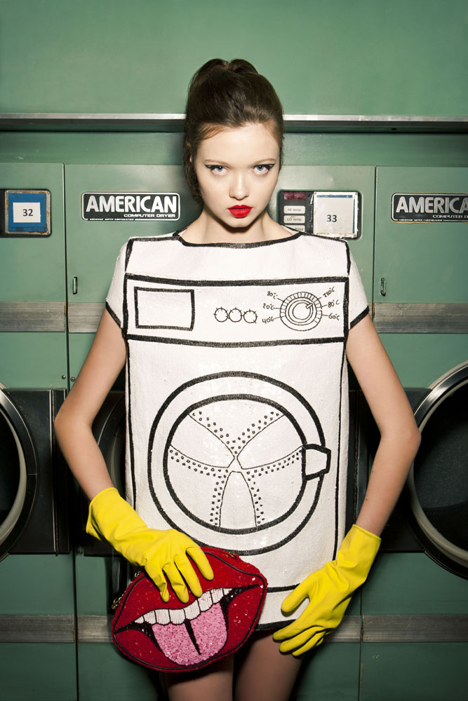 Washing machine dress by The Rodnik Band.