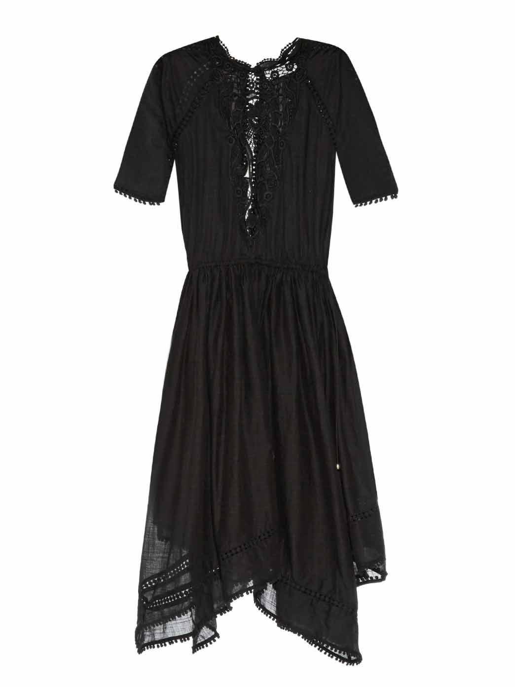 Nightmarch Motif cotton dress, £417, Zimmermann. www.matchesfashion.com