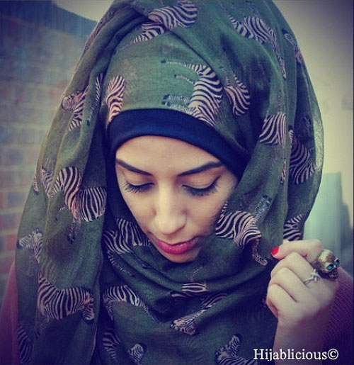 Adviah Khan, of the Hijablicious blog.