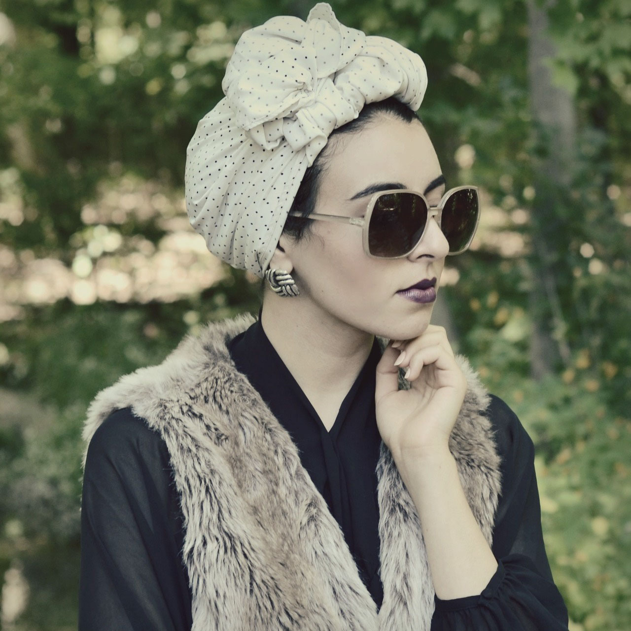 Winnie Detwa in turban, Tumblr, September 13, 2012, screenshot.