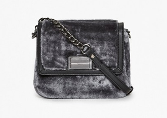 Fran Faux Fur Crossbody Bag, £75, French Connection. www.frenchconnection.com