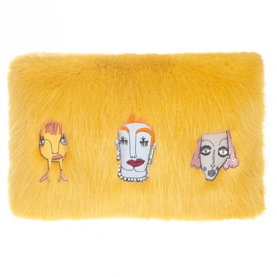 Damsel clutch, £195, Shrimps. www.shrimps.co.uk