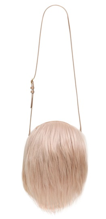 Fur shoulder bag, £491, Simon Rocha. www.luisaviaroma.com
