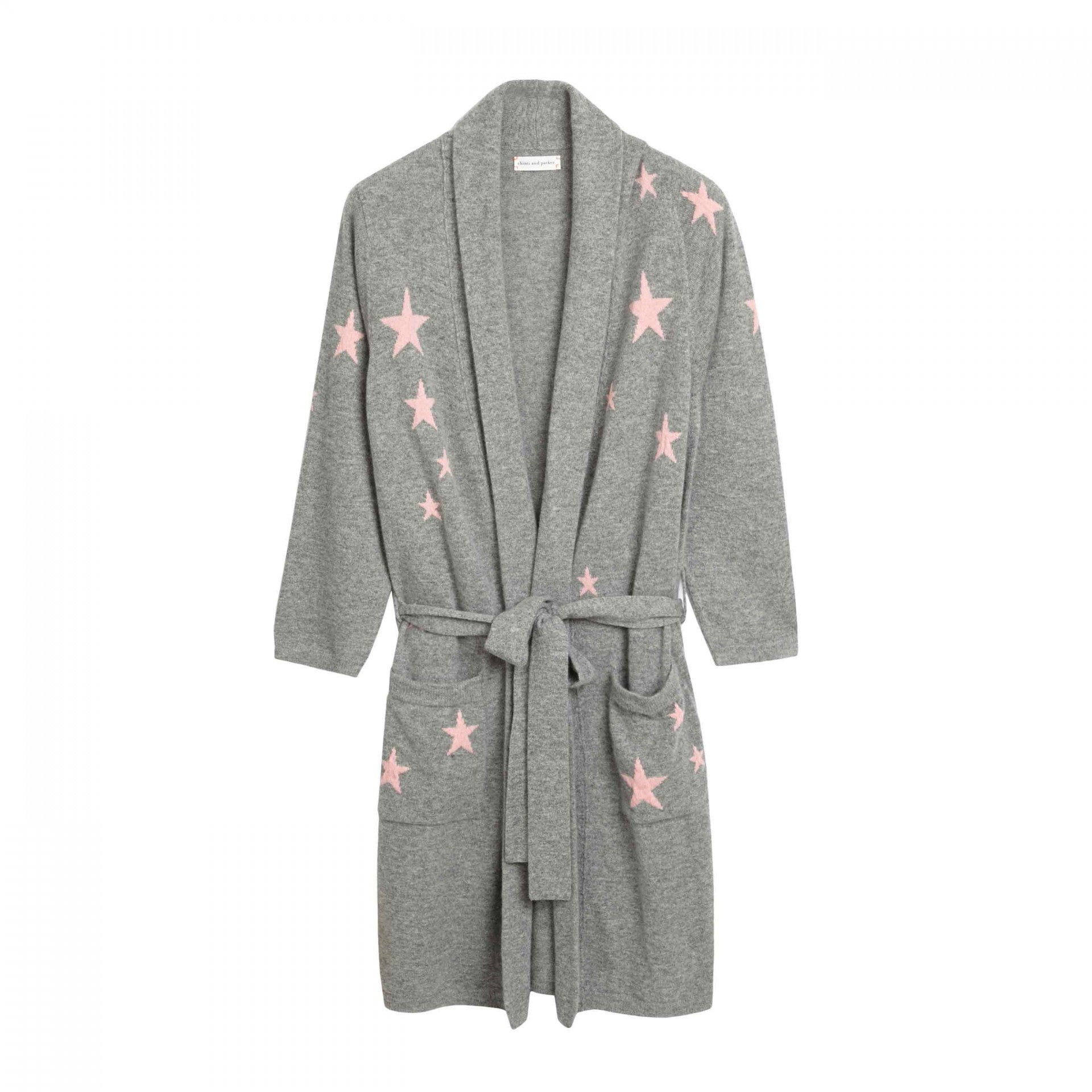 Short Star Dressing Gown, £595, Chinti & Parker. www.chintiandparker.com