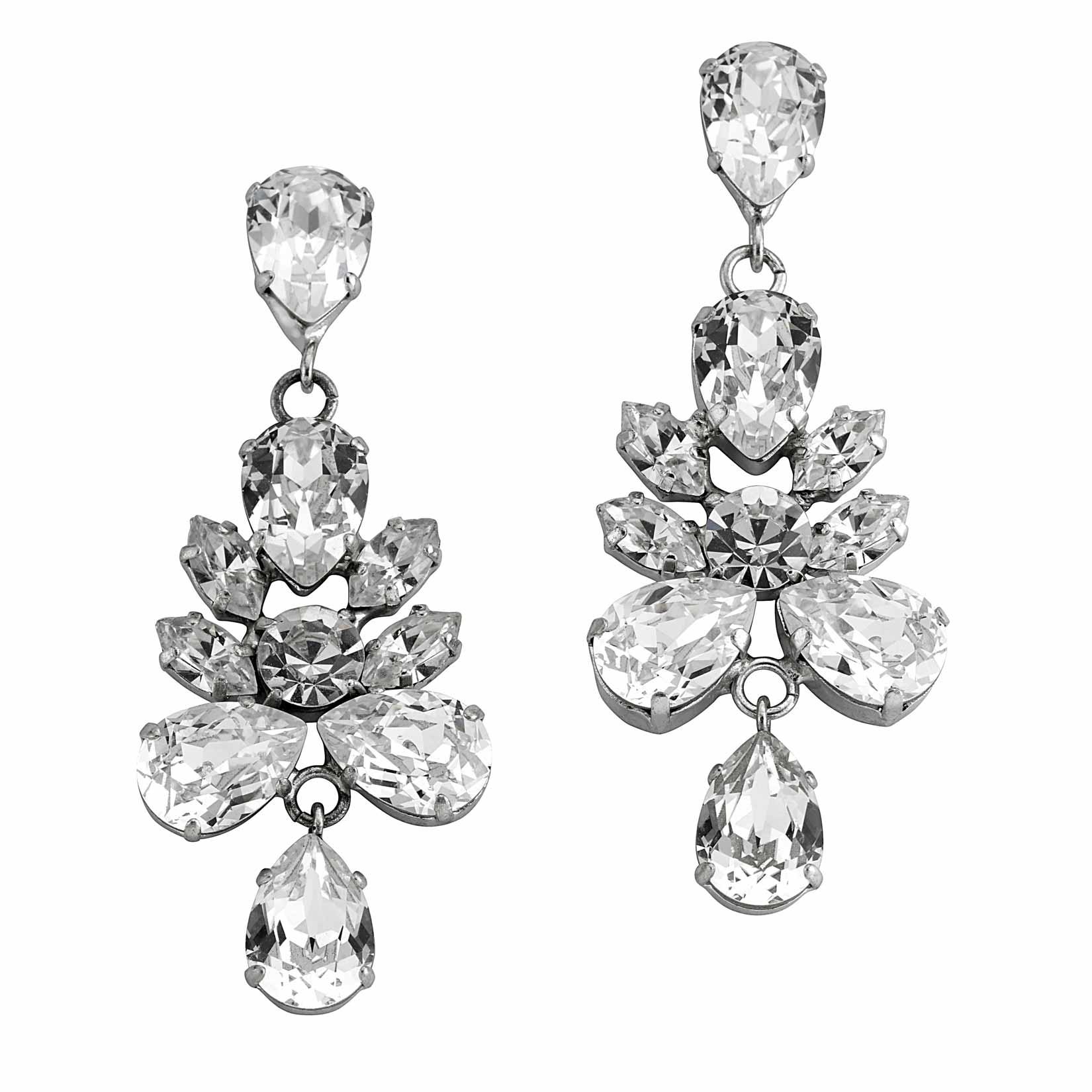 Reverse Cluster Earrings, £150, Mews London. www.mews-london.com