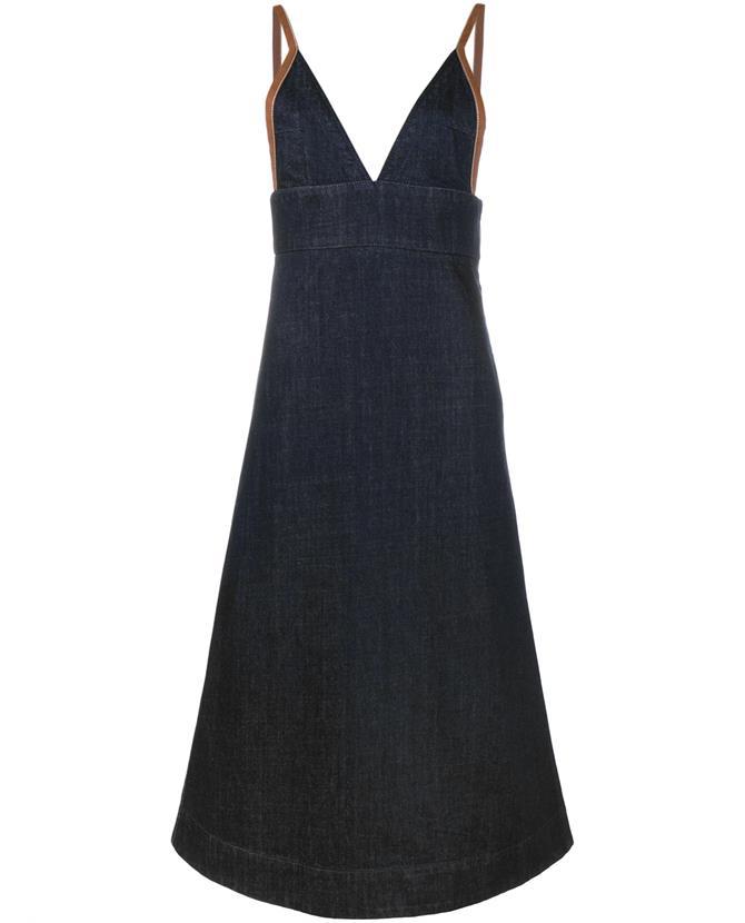 Sleeveless Denim Dress, £440, Marni. www.brownsfashion.com