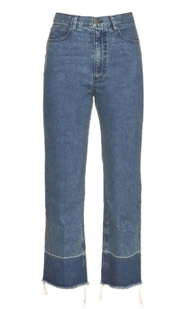 Legion high-rise slim-leg jeans, £325, Rachel Comey. www.matchesfashion.com