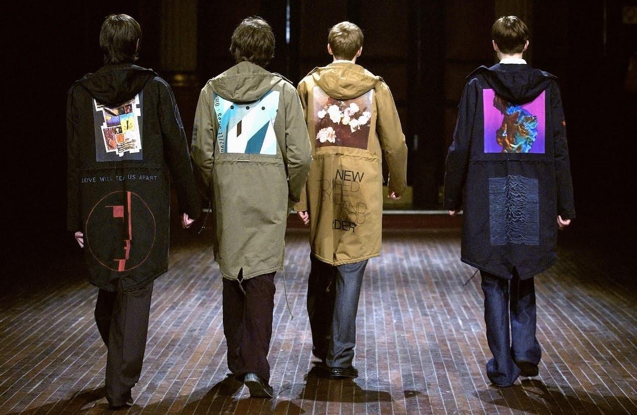Raf Simons menswear Autumn Winter 2003Paris Menswear Fashion Week. Picture: Catwalking.com