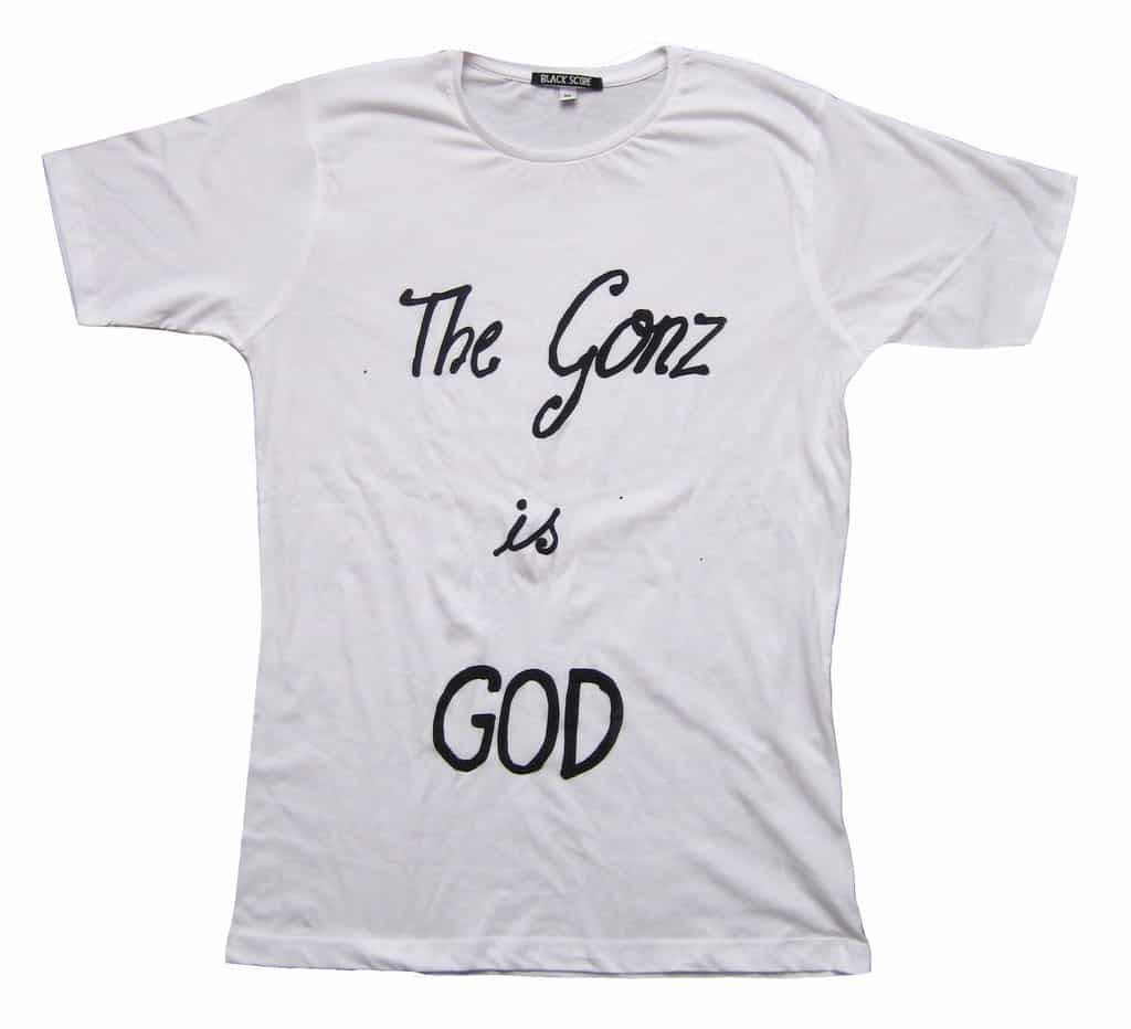 The Gonz Is God, £20, Black Score. www.blackscore.com