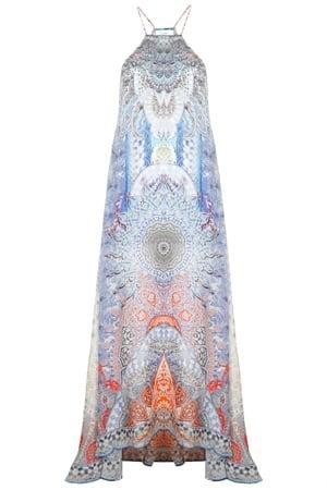 Concubine Realm Sheer Overlay Dress, £325, Camilla. www.oxygenboutique.com