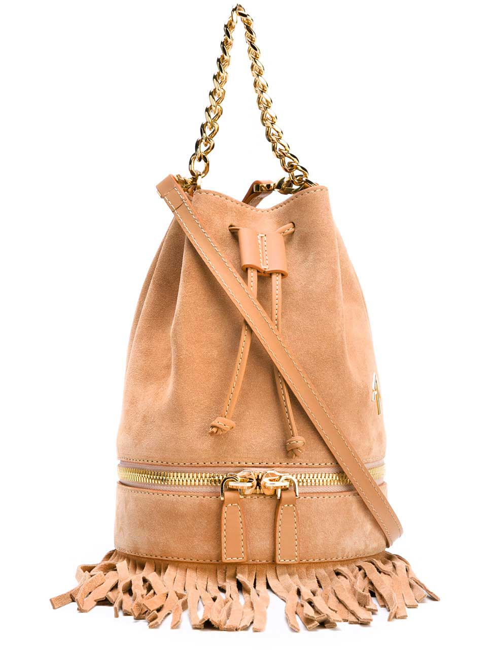 Zeal Fringed Suede Bag, £305, MANU Atelier. http://www.theshopatbluebird.com