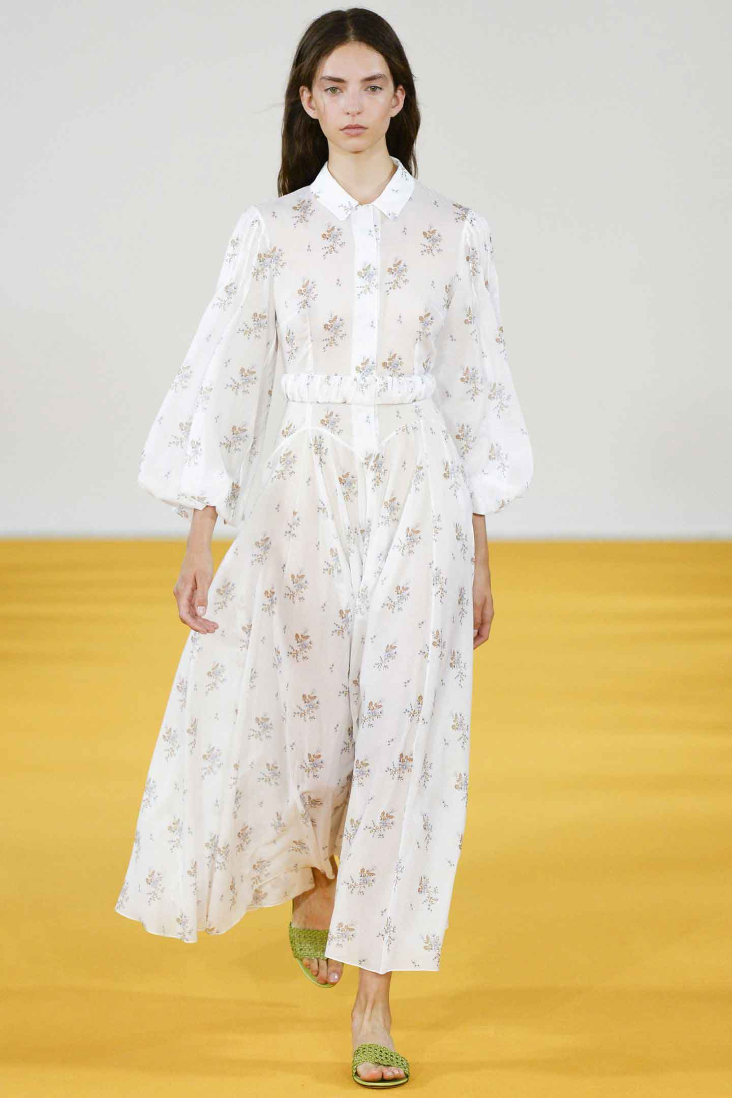 'A fresh, breezy romanticism.' Emilia Wickstead, SS17.