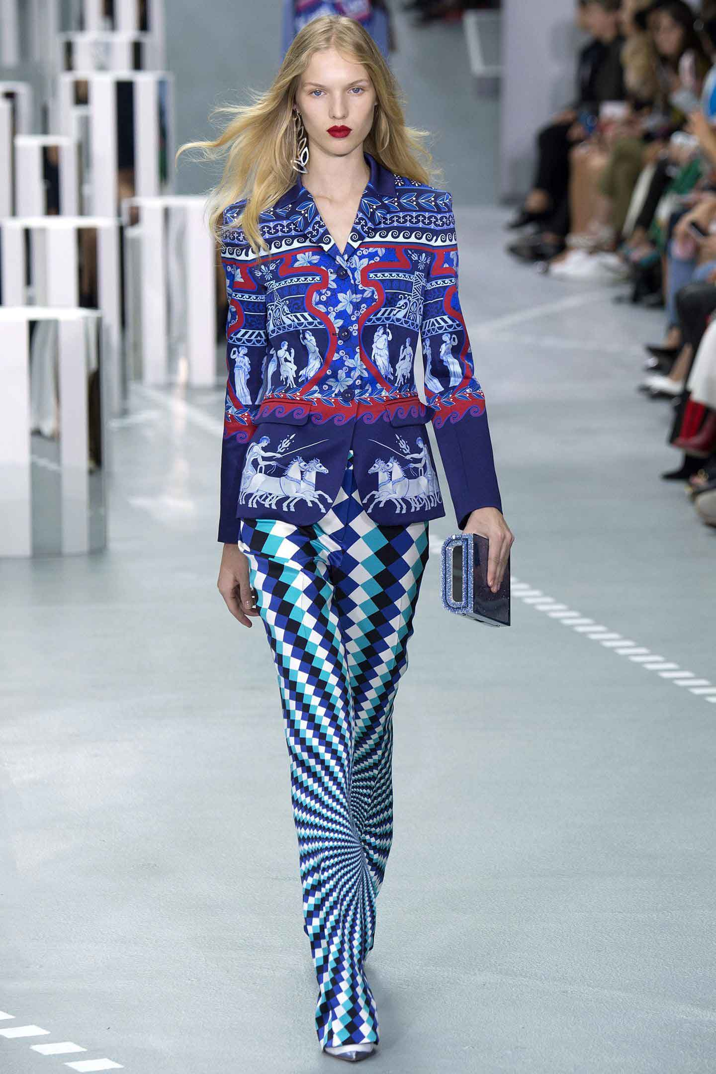 Ancient Greek references: Mary Katrantzou. Picture: Indigital.