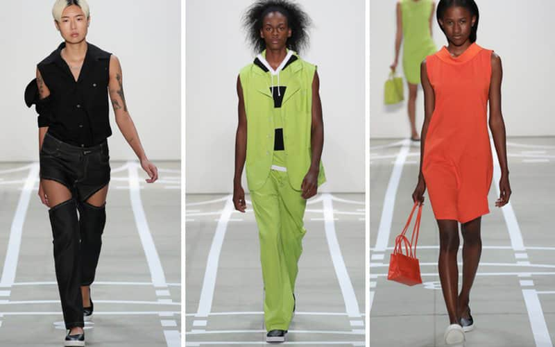 'The entire construct of masculine fashion is absurd.' Telfar SS17.