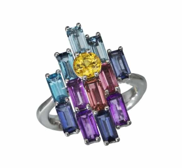 DAOU JEWELLERY. Morning Bright Ring, £3,800. https://daoujewellery.com