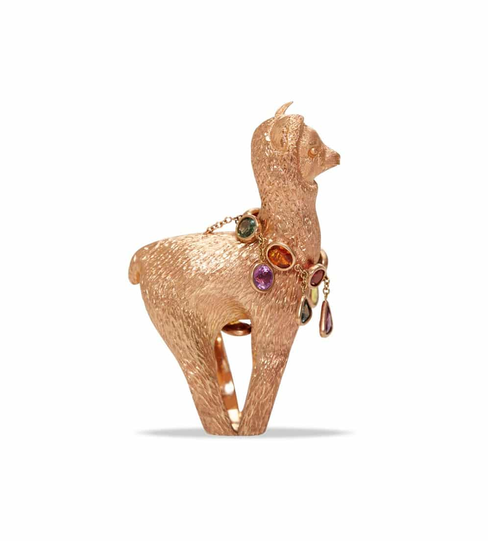 DANIELA VILLEGAS. Alpaca ring, from £18,500. http://justoneeye.com