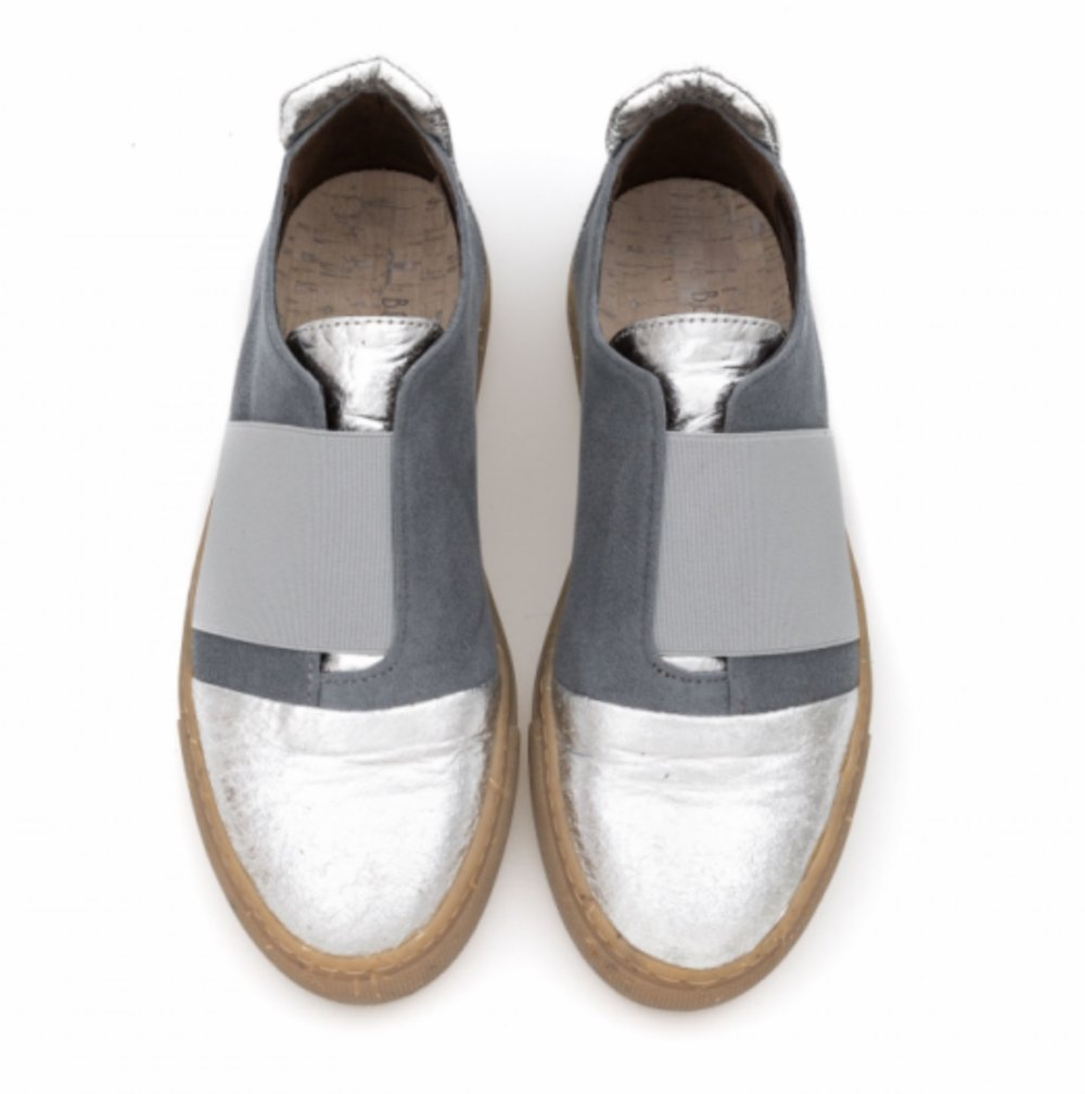 Stephie Pinatex Silver, £155, Bourgeois Boheme.  www.bboheme.com