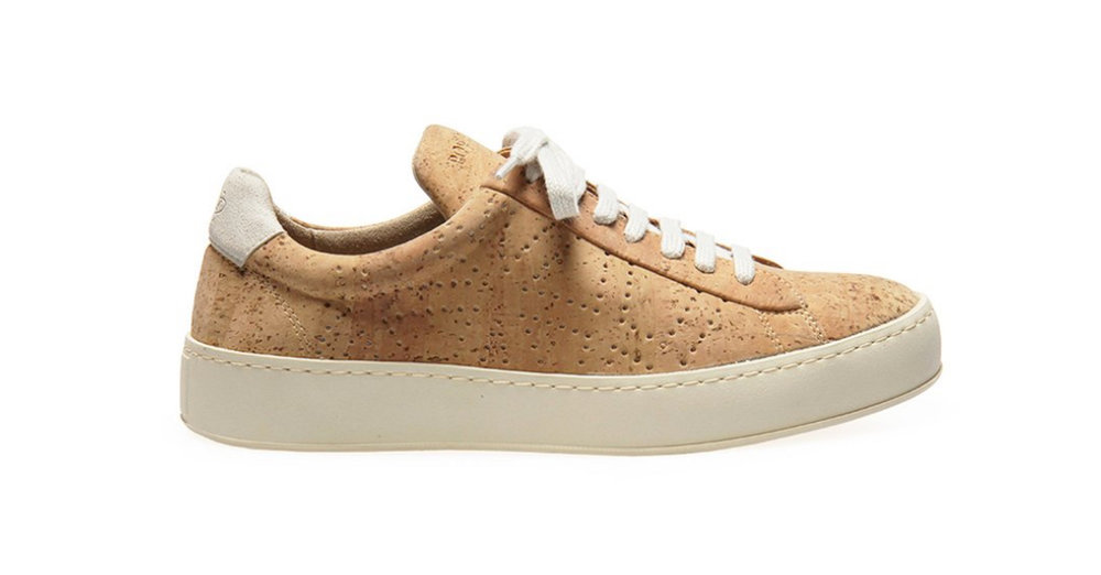 Sneak w natural cork, £99, Po Zu.  https://po-zu.com