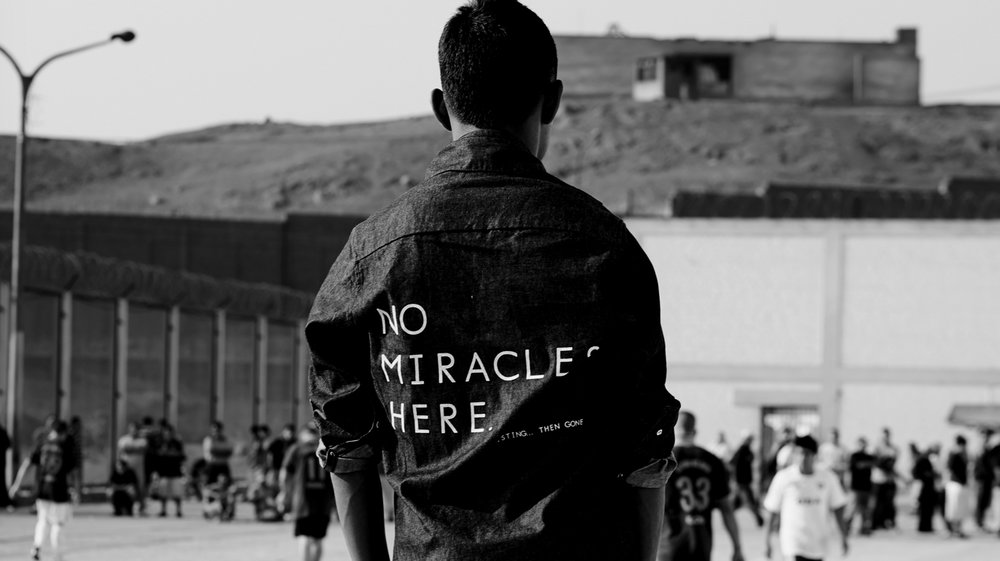 French activist and designer Thomas Jacob works with the inmates in three Peruvian jails to design and create heartbreaking streetwear.