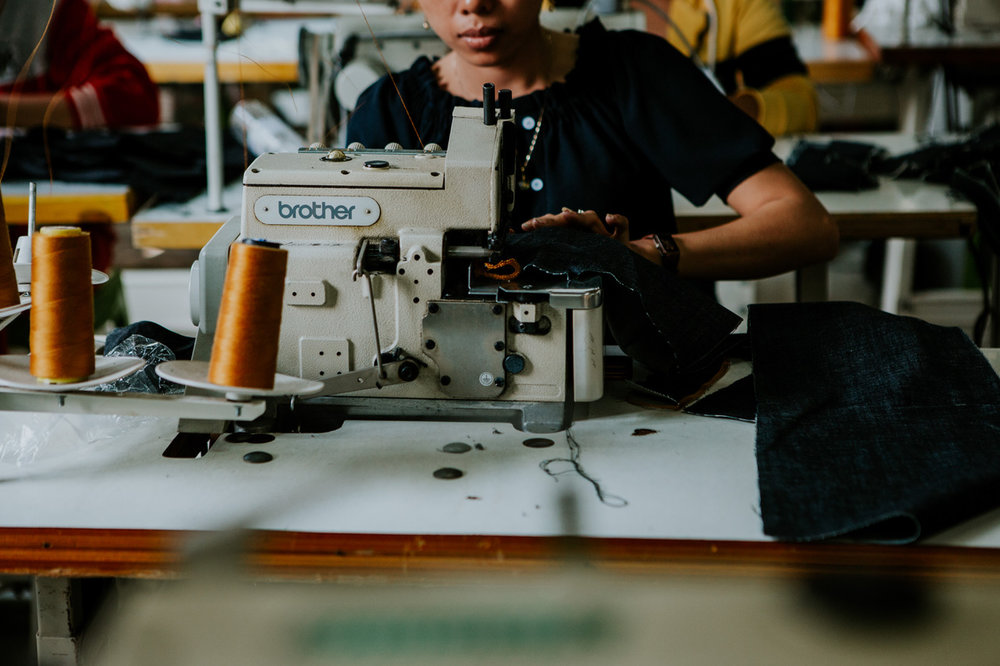 Outland Denim has a real mission: employing women who've been exposed to sex trafficking in Asia to make its jeans.[/caption]
