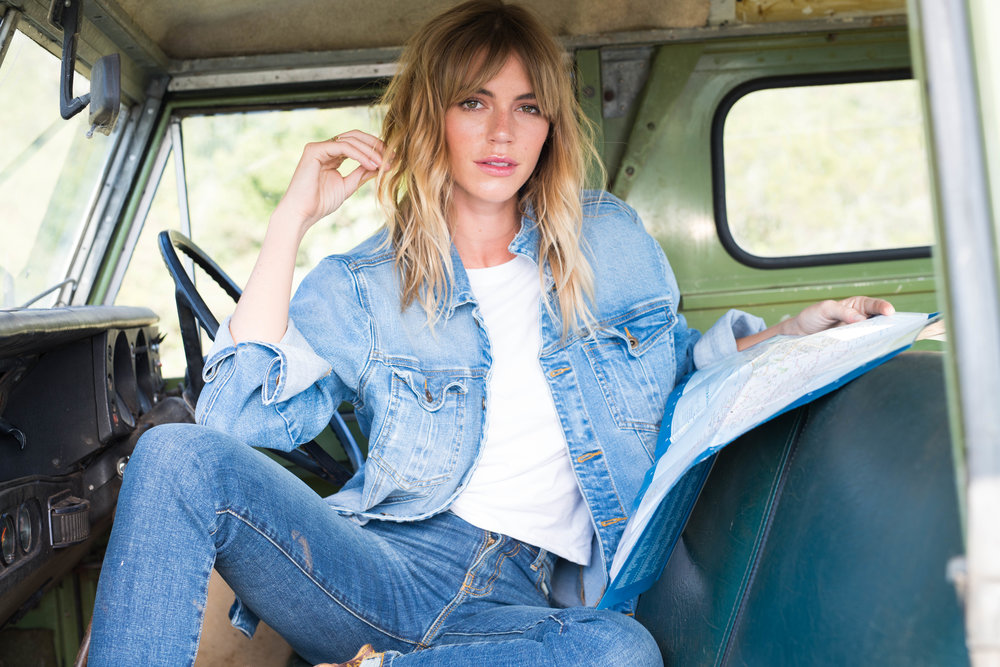 Outland Denim offers ethical employment and training to women rescued from human trafficking and exploitation to make. Picture: Outland.