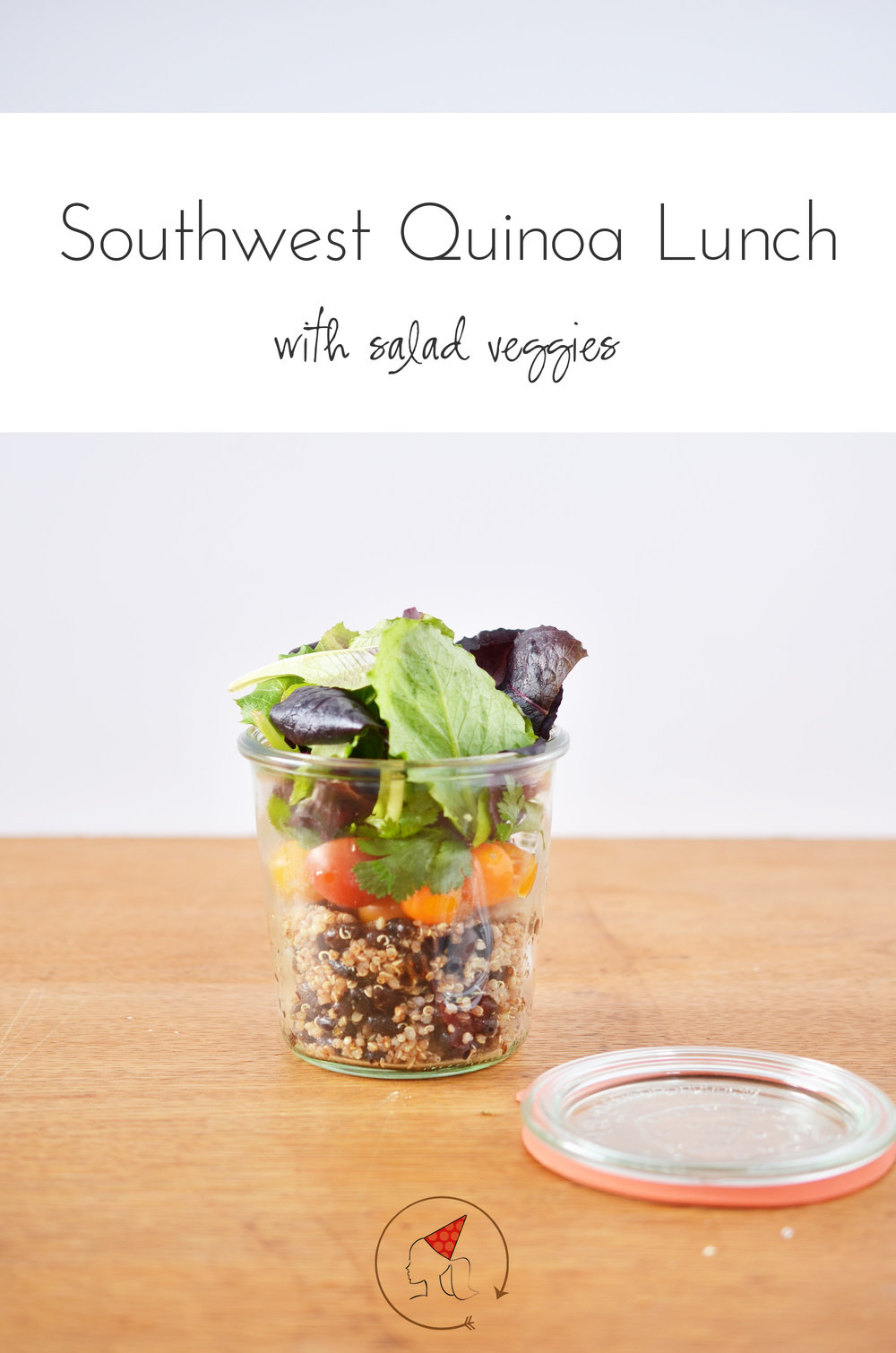 Ali Hedin | Southwest Quinoa Lunch