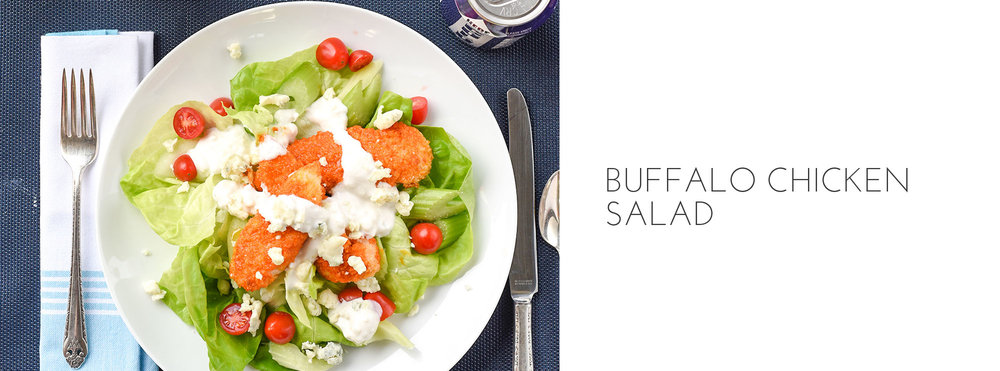 ALI HEDIN'S BUFFALO CHICKEN SALAD