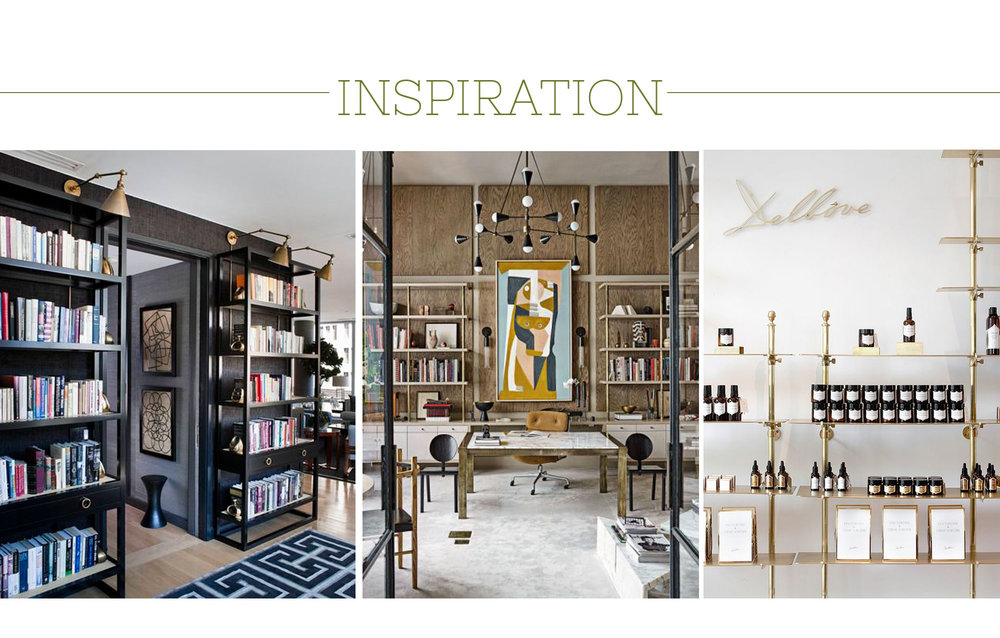 Ali Hedin Party House Library Inspiration